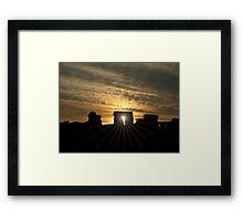 Stonehenge Sunset Framed Print