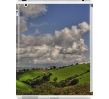 small village in the hills  iPad Case/Skin