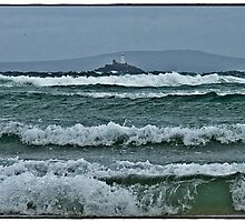 """"""" First storms of winter hit St Ives"""" by Malcolm Chant"""