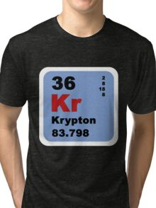 Periodic Table of Elements: No. 36 Krypton Tri-blend T-Shirt
