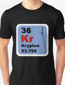 Periodic Table of Elements: No. 36 Krypton T-Shirt