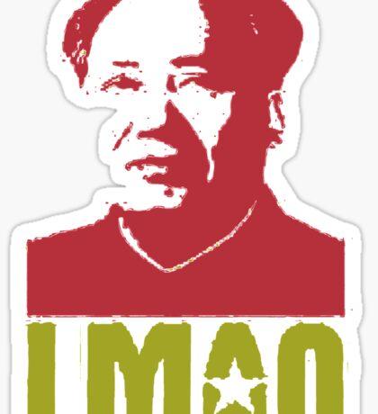 LMAO Chairman Mao Sticker