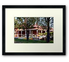 Brotherhood House Framed Print