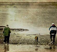 Beach Bums.... by Karen  Helgesen