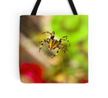 Spider Close-up Tote Bag
