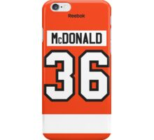 Philadelphia Flyers Colin McDonald Jersey Back Phone Case iPhone Case/Skin