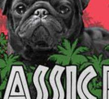 Jurassic Pug Funny Parody Urban Swag Sticker