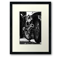 "BMW R65 ""Cafe Racer"" Framed Print"