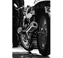 "BMW R65 ""Cafe Racer"" Photographic Print"