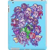 HeroChibis - GROUP iPad Case/Skin