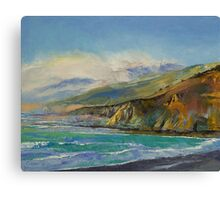 Jade Cove Canvas Print