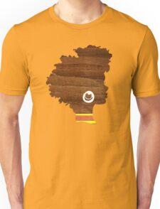 Sunny, Natural Hair Silhouette Unisex T-Shirt