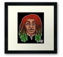 Dreads are cool. Framed Print