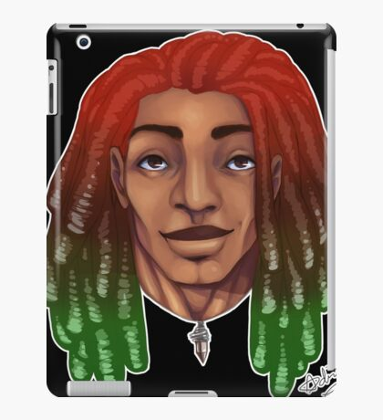 Dreads are cool. iPad Case/Skin