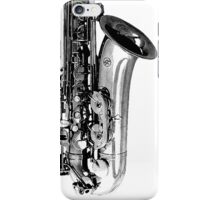 sax abstract iPhone Case/Skin