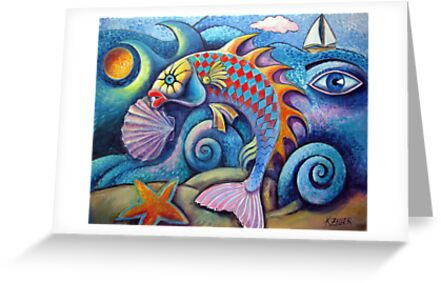 Big fish by Karin Zeller