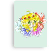Flower Fun Canvas Print