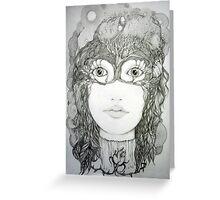 Demeter Victoriana Greeting Card