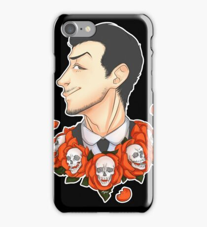Jim Moriarty - Flowers iPhone Case/Skin