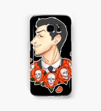 Jim Moriarty - Flowers Samsung Galaxy Case/Skin