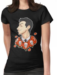 Jim Moriarty - Flowers Womens Fitted T-Shirt