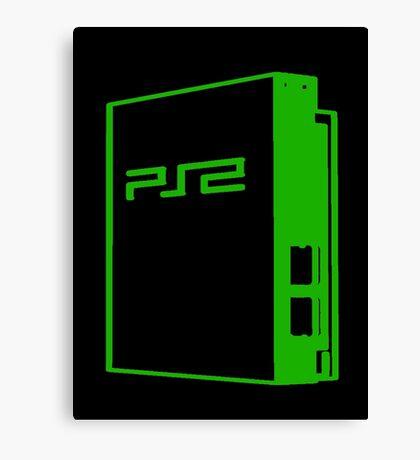 Playstation 2 FTW Canvas Print