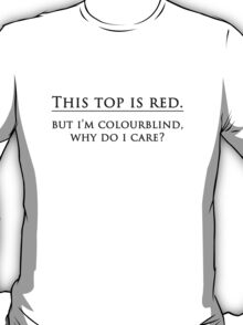 Colourblind Humour T-Shirt