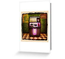 Jukebox Greeting Card