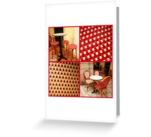Red's not dead..... Greeting Card