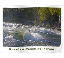 Water powers - Nesselva . Norway. Brown Sugar Story.Featured in Group Fishlike . Favorites: 1 Views: 324 . Thx! Poster