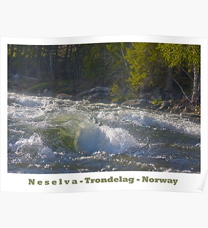 Water powers - Nesselva . Norway. Brown Sugar Story.Featured in Group Fishlike . Favorites: 1 Views: 324 . Thx! Poster