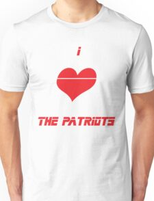 I <3 The Patriots Unisex T-Shirt