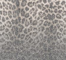 Shimmer (Snow Leopard Glitter Abstract) by soaringanchor