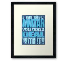 AVATAR KORRA'S GOT CLASS Framed Print