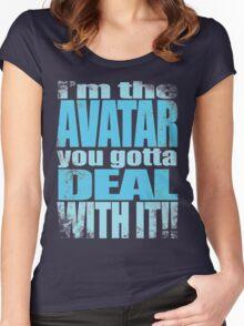 AVATAR KORRA'S GOT CLASS Women's Fitted Scoop T-Shirt