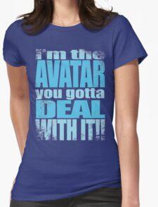 AVATAR KORRA'S GOT CLASS Womens Fitted T-Shirt