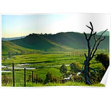 The Murray River Valley Poster