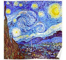 The Starry Night HDR Poster