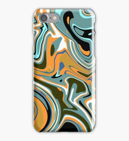 Abstract Liquid iPhone Case/Skin