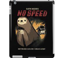 no speed iPad Case/Skin