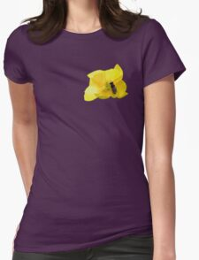 Flower Power. Womens Fitted T-Shirt
