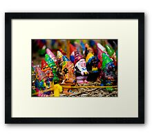 Nightmare on Gnome Street Framed Print