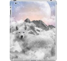 The Soul That Sees Beauty (Winter Moon / Wolf Spirit) iPad Case/Skin