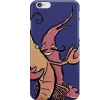swaying lobsters iPhone Case/Skin