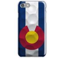 Colorado Flag Golf iPhone Case/Skin