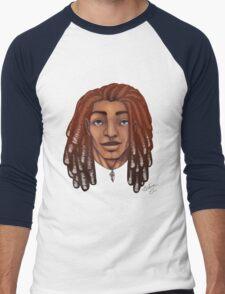 I love Dreadlocks Men's Baseball ¾ T-Shirt