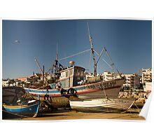 Algarve: Lagos Harbour Poster