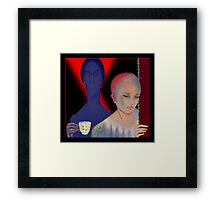'The Tea Cup' Remembering When The Trains Ran On Time Framed Print