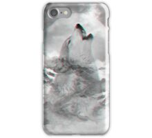 Maybe the Wolf Is In Love with the Moon iPhone Case/Skin