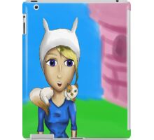 TIME FOR ADVENTURE FIONNA AND CAKE iPad Case/Skin